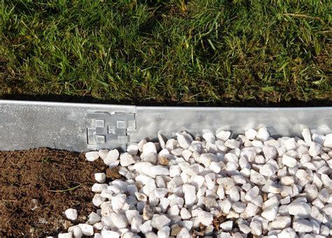 bordure plane en acier galvanis 233 1 90m x 8cm x 5 pi 232 ces