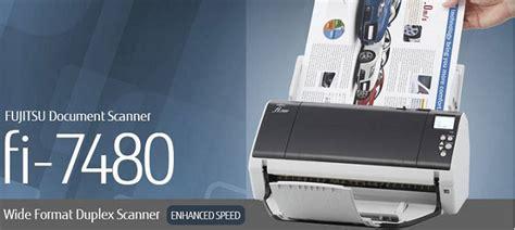 Fujitsu Scanner Fi 7480 fujitsu fi 7480 image scanner spesifikasi dan harga