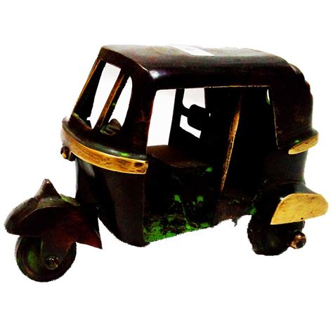 Auto Brass by Decorative Auto Rikshaw In Brass Metal Boontoon