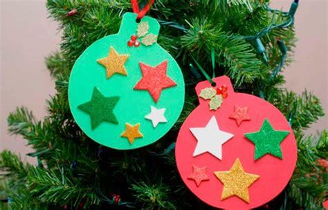 decorar bolas de navidad con fieltro manualidades navide 241 as de papel para hacer con ni 241 os