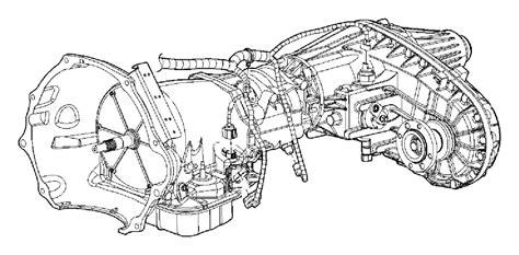 dodge ram  wiring transmission elec shift