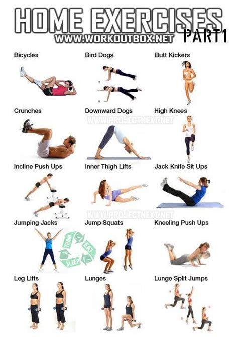 exercises you can do at home healthy living