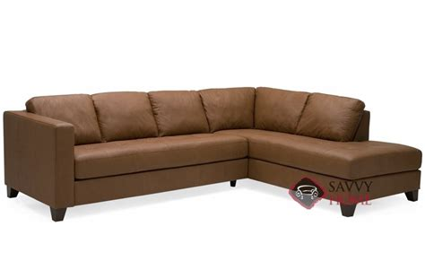 chaise sectional leather jura leather chaise sectional by palliser is fully