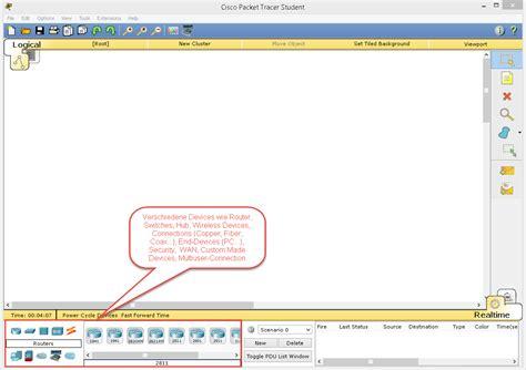 tutorial memakai cisco packet tracer tutorial cisco packet tracer f 252 r einsteiger mit