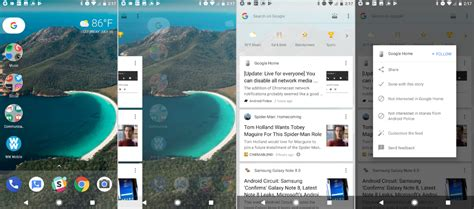 layout google now launching the new google now design on google pixel