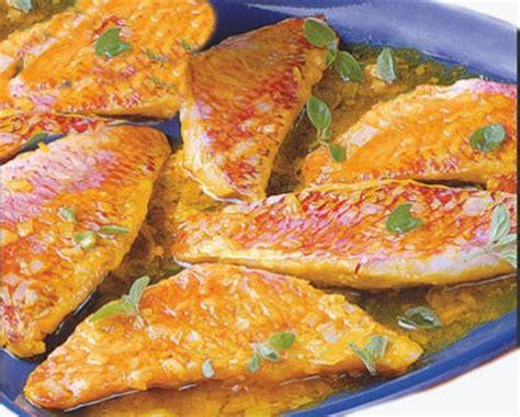 cuisiner rouget rougets au safran sicile recette