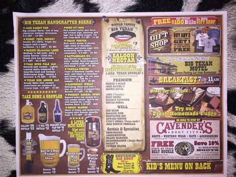 amarillo tx steak challenge the 72 ounce steak challenge picture of big texan steak