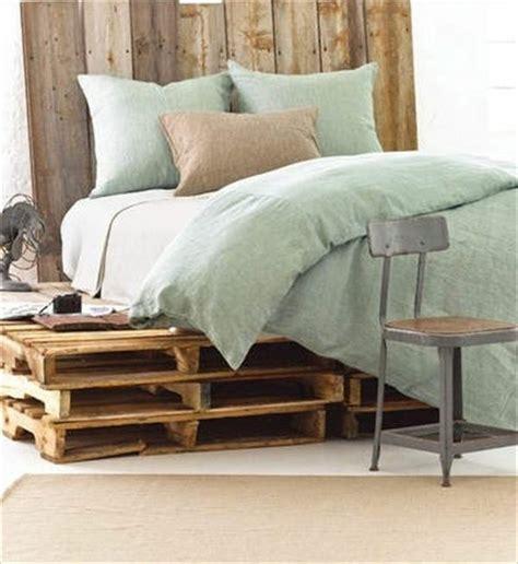 Diy Kopfteil Bett by Europaletten Bett Bauen Preisg 252 Nstige Diy M 246 Bel Im
