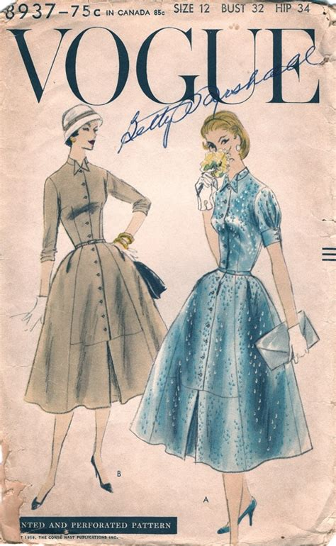 pattern review vogue 8937 vogue 8937 vintage sewing patterns