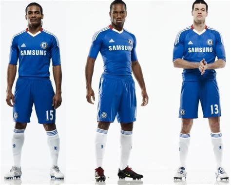 Jersey Chelsea Home 2010 2011 Leaked Size M chelsea 10 11 adidas home kit leaked 1 187 who ate all the pies