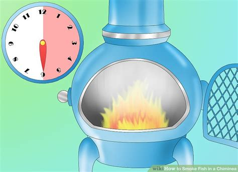how to smoke fish in a chiminea 5 steps with pictures