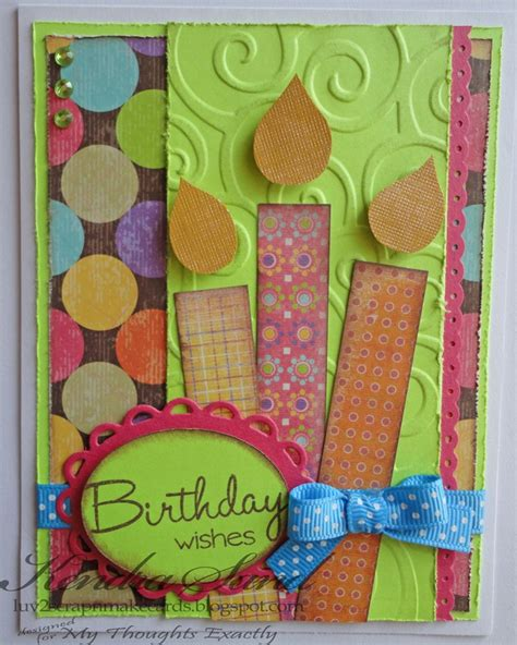 how to make birthday greeting cards 17 best ideas about scrapbook cards on card