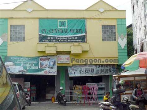Sofa Bed Purwokerto alamat telepon toko furniture cv centraal mebel