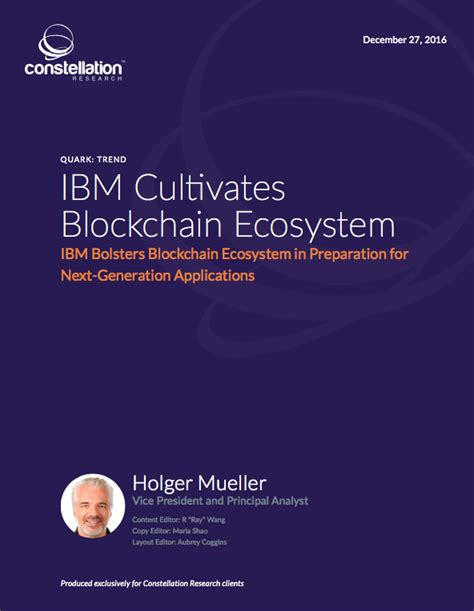 blockchain enabled applications understand the blockchain ecosystem and how to make it work for you books ibm cultivates blockchain ecosystem constellation