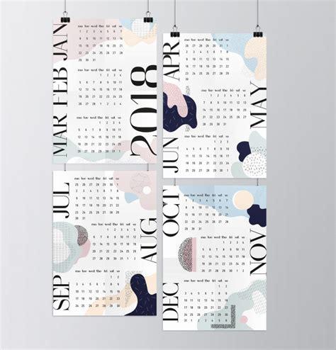 diese  design kalender fuer  werden dich zum staunen