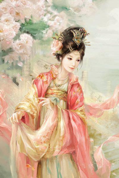 painting princess characters by lu beautiful