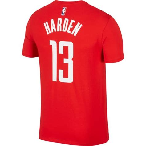 Houston Number Search Nike S Houston Rockets Harden 13 Name And Number T Shirt Academy