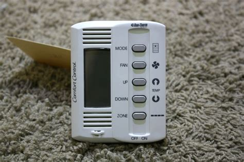 duo therm comfort control thermostat used rv duo therm by dometic comfort control 5 button