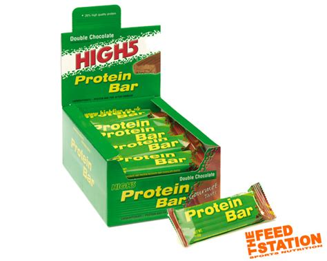 5 protein bars high 5 protein bar 25 pack the feed station endurance