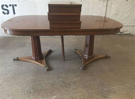 large dining room tables for sale large dining room table by baker for sale at 1stdibs