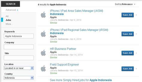 3 Apple Di Indonesia lowongan kerja apple indonesia penempatan di jakarta