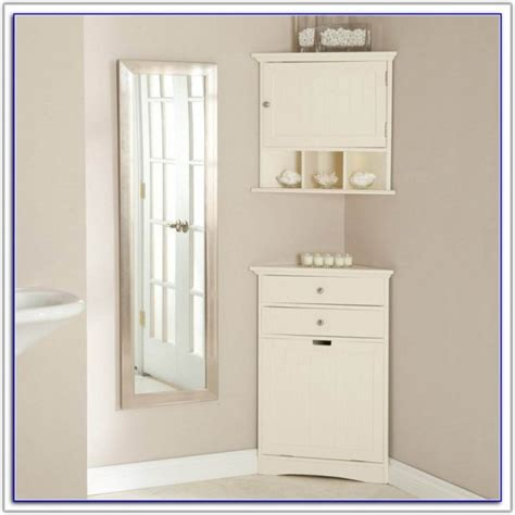 floor standing corner bathroom cabinet bathroom storage