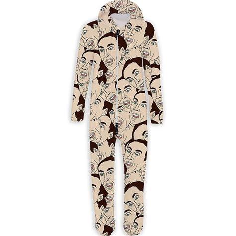 printed onesie creepy sleepwear printed onesie