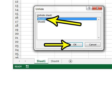 unhide worksheet excel 2013 how to unhide a worksheet tab in excel 2013 live2tech
