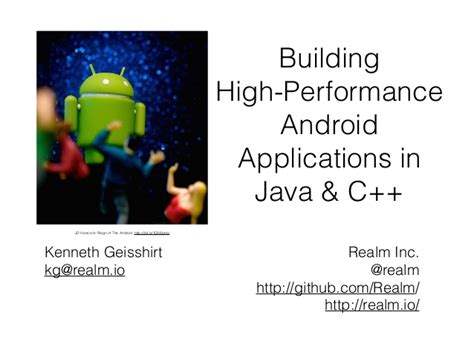 Why Android Uses Java by Building High Performance Android Applications In Java And C