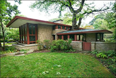 beautiful frank lloyd wright prairie house plans amazing