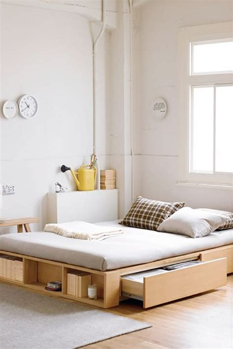 Bedroom Seen by 9 Saving Space Ideas For Your Bed Room The Grey Home