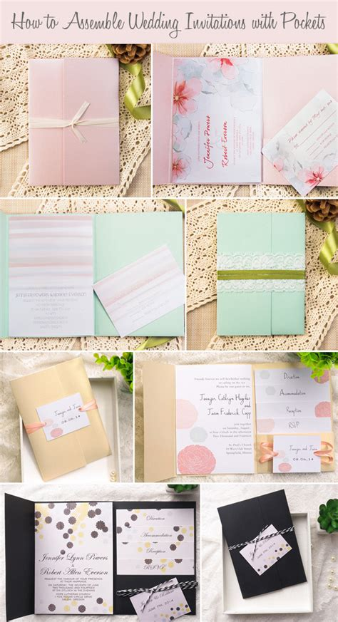 how to assemble wedding invitations how to assemble wedding invitations how to assemble