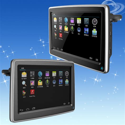 android monitor wholesale 10inch android4 4 os car headrest lcd monitor with wifi and bluetooth 3g usb dongle