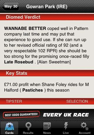 racing post mobile app racing post app for iphone android mobile