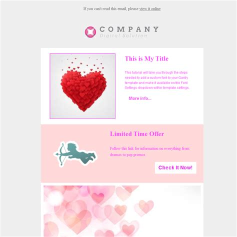 valentines newsletter template 18 13 free s day email templates