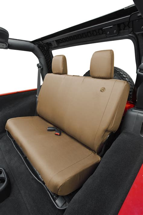 07 jeep commander seat covers bestop 174 custom tailored rear seat cover for 07 17 jeep