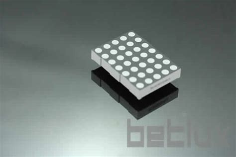 Led Dot Matrix product image led display module 5x7 led dot matrix 2 0 inch height 5x7 led dot matrix