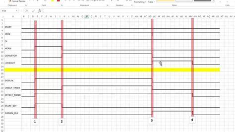 timing diagram visio diagram timing diagram tool
