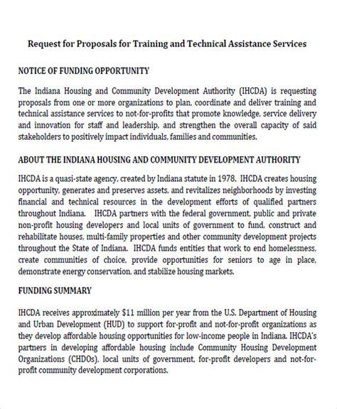 training proposal letter 33 letter format sles