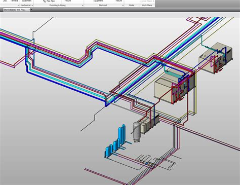 Plumbing In Revit by Revitcity Pipe Color