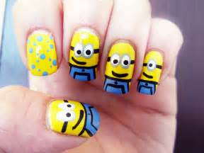 how to make adorable minions on your nails 1mhowto com