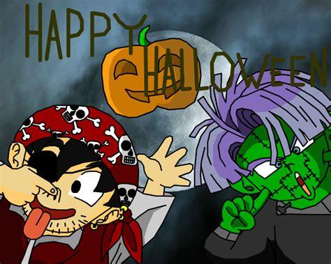 imagenes de dragon ball z halloween happy halloween dbz style by eggmanrules on deviantart