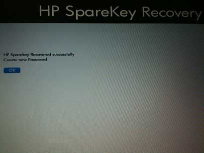 reset bios without display how to remove hp bios password with hp sparekey password