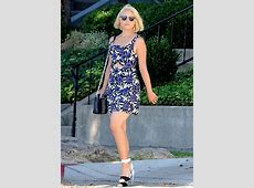 Dianna Agron in Mini Dress - Out in Los Angeles, September ... Elise Build