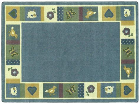 Baby Safe Rugs by Baby Blues 169 Classroom Rug 3 10 Quot X 5 4 Quot Oval Soft 1537bb 02