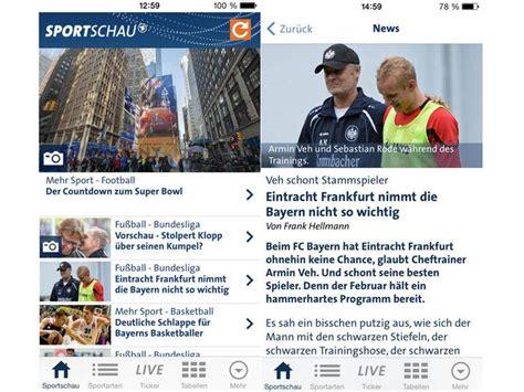 sportschau wann diese 8 apps brauchen fu 223 ballfans zum bundesliga start