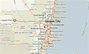 cooper city florida map cooper city location guide