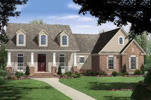 Country Houseplans Country Style House Plan 4 Beds 3 Baths 2250 Sq Ft Plan 21 196
