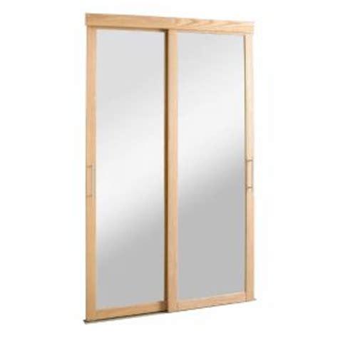 Gift Card Zen Home Depot - pinecroft 72 in x 80 in mirror zen oak frame for sliding door pc07280co112c the