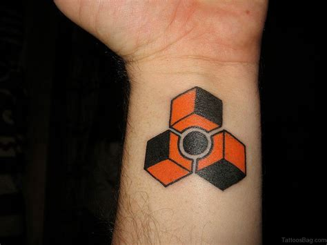 colorful geometric tattoos 37 geometric tattoos on wrist